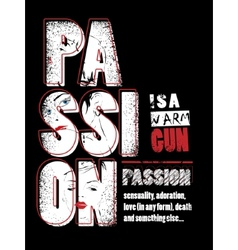 Passion background vector
