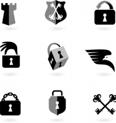 Locks security vector