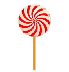 Hypnotizing lollipop vector