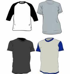 Tee shirts vector