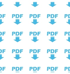 Unique pdf seamless pattern vector