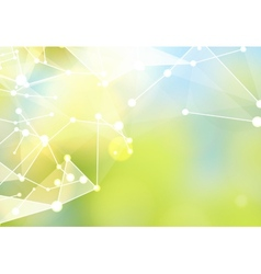 Abstract particles vector
