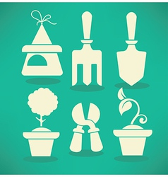 Garden collection vector