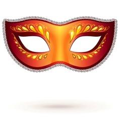 Venitian carnival mask vector