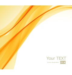 Abstract orange yellow and white background vector