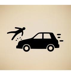 Pedestrian hit vector
