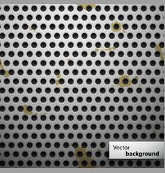Grunge metal speaker grill seamless pattern vector