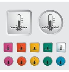 Water temperature vector