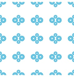 Unique mechanism seamless pattern vector