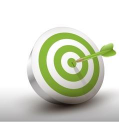Green dart vector