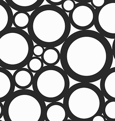 Monochrome hole seamless pattern vector