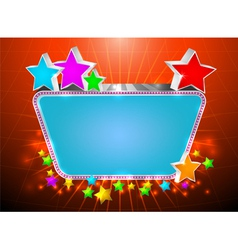 Glossy marquee vector