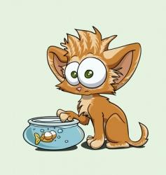 Little kitty vector