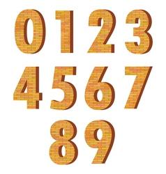 Brick numbers vector