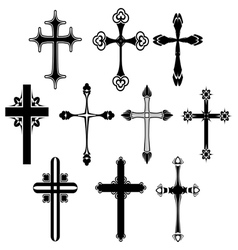 Cross symbol set vector