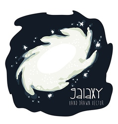 Galaxy icon vector