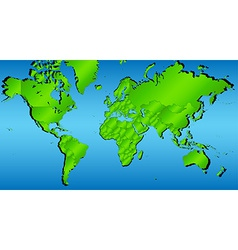 World map 1 vector
