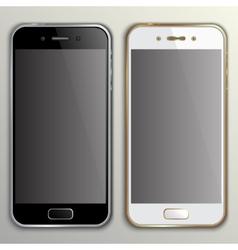 Realistic phone mockup vector
