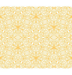 Seamless yellow pattern on white background vector