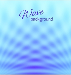 Blue abstract smooth light background vector