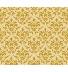 Damask wallpaper pattern vector