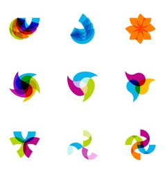 Logo design elements set 02 vector
