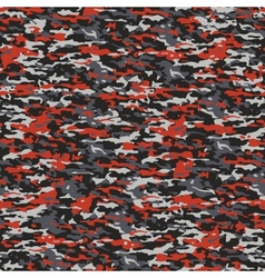 Gray and red camouflage vector