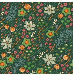 Floral seamless pattern bright  can vector