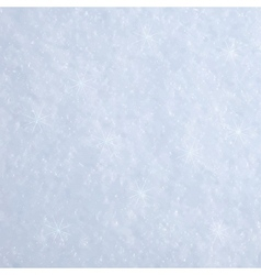 Abstract snow background with particles vector
