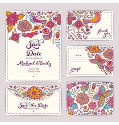 Printable wedding invitation template invitation vector