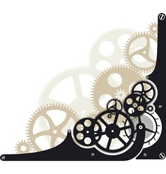 Cog wheels vector