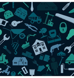 House repair and construction background vector