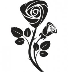 rose art illustration vector