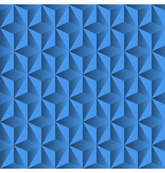 Blue background from pyramids vector