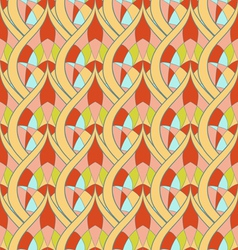 Seamless abstract ornament pattern vector