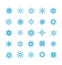 008 christmas snow flakes 004 vector