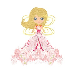 Beautiful fairy graphic vector