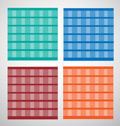Background and tiles pattern set vector