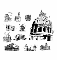 Architectural features vector