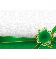 Background to st patrick's day vector