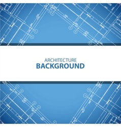 Best blueprint building plan background vector