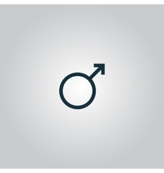 Male sign icon vector