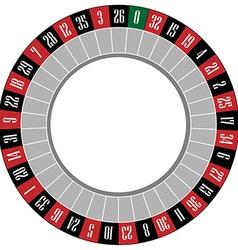 Roulette wheel vector