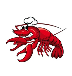 Crayfish or lobster vector