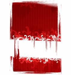 Illustration of grungy wallpaper vector