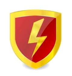Power sign emblem vector
