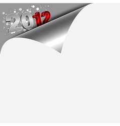 New year numbers vector