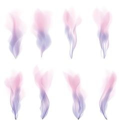 Pink smoke strokes background version vector