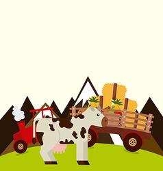 Farm fresh design vector