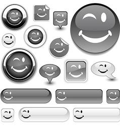 Smiley signs vector